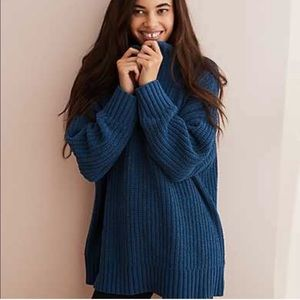 Aerie Oversized Chenille Chunky Knit Sweater